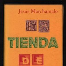 Libros de segunda mano: JESÚS MARCHAMALO LA TIENDA DE PALABRAS ED SIRUELA 1999 1ª EDICIÓN DISTINTOS TIPOS ISBN 84-7844-451-3. Lote 293766123
