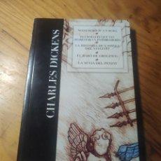 Libros de segunda mano: CHARLES DICKENS. MANUSCRIT D'UN BOIG. BARÓ GROGZWIG. NÚVIA PENJAT. FOLLETS SEGRESTAR ENTERRAMORTS.. Lote 293842883