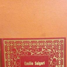 Libros de segunda mano: EL LEÓN DE DAMASCO. EMILIO SALGARI. EDICIONES PETRONIO. Lote 294376608