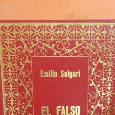 Libros de segunda mano: EL FALSO BRACMAN. EMILIO SALGARI. EDICIONES PETRONIO. Lote 294376643