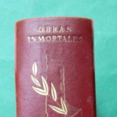Libros de segunda mano: ´OBRAS INMORTALES´. SHAKESPEARE. EDAF 1969. CON CAJA. LÁMINAS. 1583 PÁGINAS.. Lote 294378388