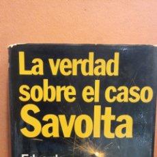 Libros de segunda mano: LA VERDAD SOBRE EL CASO SAVOLTA. EDUARDO MENDOZA. MUNDO ACTUAL DE EDICIONES. Lote 294379748