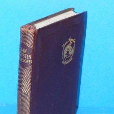 Libros de segunda mano: CONFESIONES.- SAN AGUSTIN (AGUILAR. JOYA 1961). Lote 294441593