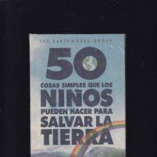 Libros de segunda mano: 50 COSAS SIMPLES QUE LOS NIÑOS PUEDEN HACER PARA SALVAR LA TIERRA - CIRCULO LECTORES. Lote 294945578