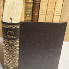 Libros de segunda mano: AÑO 1970 - NOVELAS ESCOGIDAS DE MAX AUB - AGULAR MÉXICO AUTORES MODERNOS 1ª EDICIÓN. Lote 295022353