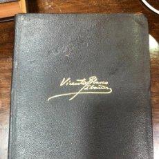 Libros de segunda mano: LIBRO V. BLASCO IBAÑEZ - OBRAS COMPLETAS III - AGUILAR AÑO 1969 - 1765 PAG. Lote 295032698