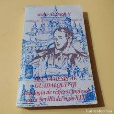Libros de segunda mano: DEL TAMESIS AL GUADALQUIVIR ANTOLOGIA DE VIAJEROS INGLESES EN LA SEVILLA DEL SIGLO XIX. 1976.. Lote 295381323