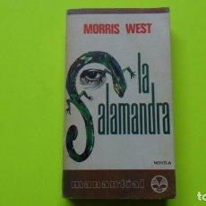 Libros de segunda mano: LA SALAMANDRA, MORRIS WEST, ED. PLAZA Y JANÉS, TAPA BLANDA. Lote 295492458