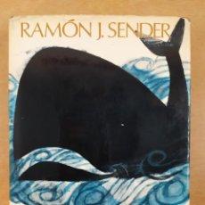 Libros de segunda mano: ZU, EL ÁNGEL ANFIBIO / RAMÓN J. SENDER / PLANETA. 1ª ED. 1970. Lote 295492513