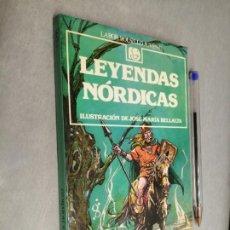 Libros de segunda mano: LEYENDAS NÓRDICAS / EDITORIAL LABOR 2ª EDICIÓN 1988. Lote 295493658