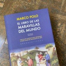 Libros de segunda mano: EL LIBRO DE LAS MARAVILLAS DEL MUNDO - MARCO POLO - ABADA (2016) ENVÍO GRATIS. Lote 295527023