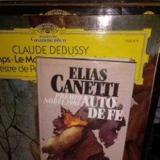 Libros de segunda mano: ELÍAS CANETTI AUTO DE FE 1982. Lote 295550053