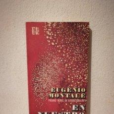 Libros de segunda mano: LIBRO - EN NUESTRO TIEMPO - VARIOS - EUGENIO MONTALE. Lote 295551033