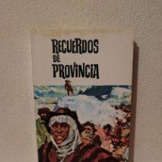 Libros de segunda mano: LIBRO - RECUERDOS DE PROVINCIA - VARIOS - DOMINGO F. SARMIENTO - 1968. Lote 295551383