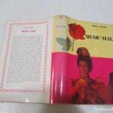 Libros de segunda mano: MAX CATTO MUSIC-HALL W10325. Lote 296786153