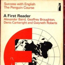 Libros de segunda mano: SUCCESS WITH ENGLISH ALEXANDER BAIRD AÑO 1970 ED COX 89 PGNS LE4500. Lote 297152328