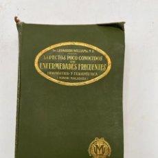 Libros de segunda mano: ASPECTOS POCO CONOCIDOS DE ENFERMEDADES FRECUENTES. LEONARD WILLIAMS. MODESTO USON. Lote 297152858