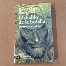 Libros de segunda mano: EL DIABLO DE LA BOTELLA Y OTROS CUENTOS - ROBERT LOUIS STEVENSON - ALIANZA EDITORIAL - CNB. Lote 297177838