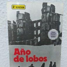 Libros de segunda mano: AÑO DE LOBOS - WILLI FÄHRMANN. Lote 297178643