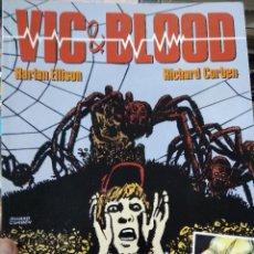 Libros de segunda mano: VIC & BLOOD, HARLAN ELLISON Y RICHARD CORBEN. ED NORMA. 1990. CO-668. Lote 297344298