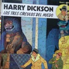 Libros de segunda mano: LOS TRES CÍRCULOS DEL MIEDO, HARRY DICKSON. CO-678. Lote 297346903