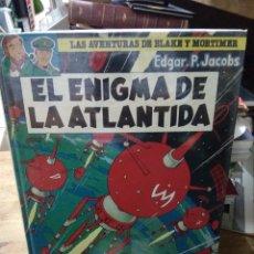 Libros de segunda mano: EL ENIGMA DE LA ATLÁNTIDA, EDGAR P. JACOBS. CO-686. Lote 297352378