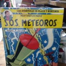 Libros de segunda mano: S.O.S. METEOROS, EDGAR P. JACOBS. CO-693. Lote 297354103