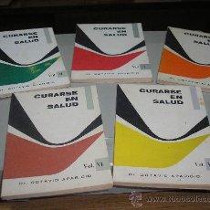 Libros de segunda mano: CURARSE EN SALUD - VOL. I, II, III, V, VI (DR. OCTAVIO APARICIO). Lote 26557494