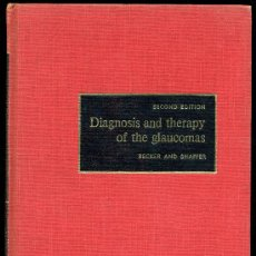 Libros de segunda mano: MEDICINA.DIAGNOSIS AND THERAPY OF THE GLAUCOMAS BY BECKER AND SHAFFER. 2ªEDITION THE C. V. MOSBY1965. Lote 10506707