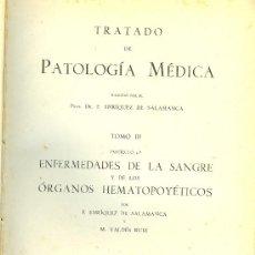 Libros de segunda mano: MEDICINA. TRATADO DE PATOLOGIA MEDICA POR F.ENRIQUEZ DE SALAMANCA. TOMO 3. ESTADES MADRID 1948. Lote 10657476