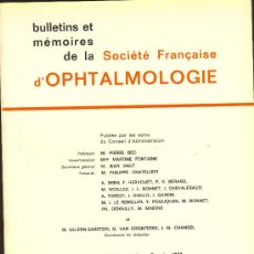 Libros de segunda mano: MEDICINA. SOCIETE FRANCAISE D'OPHTHALMOLOGIE 1980. MASSON % CIE. 1981. Lote 12539202
