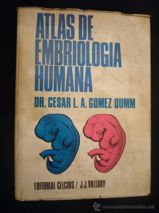 atlas de embriologia humana gomez dumm