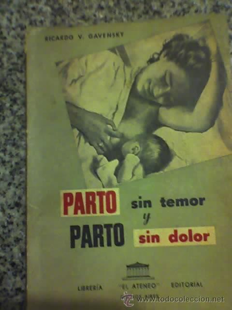 parto sin temor y parto sin dolor, por ricardo - Comprar Libros de ...