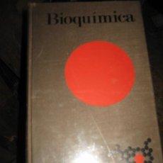 Libros de segunda mano: BIOQUIMICA LAS BASES MOLECULARES DE LA ESTRUCTURA Y FUNCION CELULAR EDI.OMEGA 1973. Lote 27243122