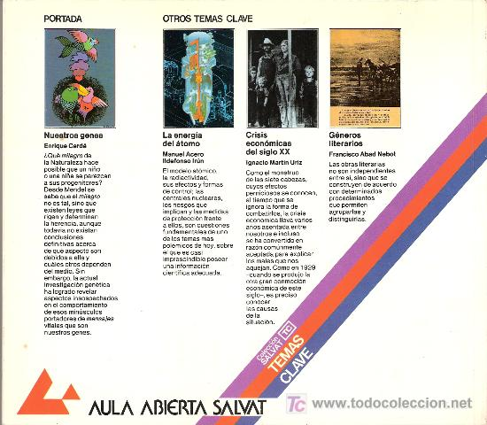 Libros de segunda mano: Nuestros Genes. Enrique Cerdá Olmedo. Coleccion Salvat. Temas Clave. nº 39. - Foto 2 - 27277432