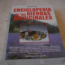 Libros de segunda mano: TINA CECCHINI - ENCICLOPEDIA DE LAS HIERBAS MEDICINALES - EDITORIAL DEL VECCHI 1995. Lote 22056726