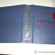 Libros de segunda mano: HEART DISEASE A TEXTBOOK OF CARDIOVASCULAR MEDICINE SAUNDERS COMPANY 1997 MEDICINA RM47292. Lote 22610523