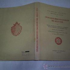 Libros de segunda mano: OPÚSCULOS MÉDICOS GALLEGOS DEL SIGLO XVIII BIBLIÓFILOS GALLEGOS, 1961 GALICIA RM48232. Lote 27615864