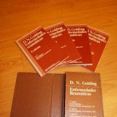 Libros de segunda mano: ENFERMEDADES REUMÁTICAS. Lote 27586324