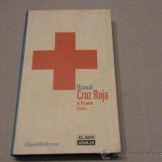 Libros de segunda mano: MANUAL CRUZ ROJA DE PRIMEROS AUXILIOS. Lote 28029157