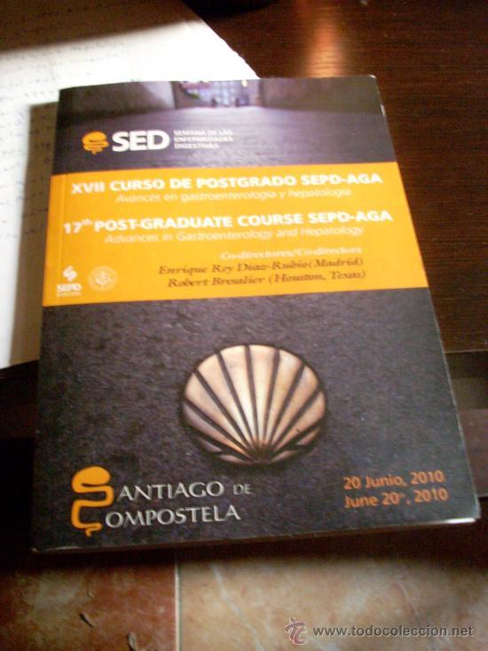 Libros de segunda mano: XVII Curso de Postgrado SEPD- AGA. Avances en gastroenterología y hepatología. 2010.Español e inglés - Foto 2 - 25132950