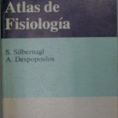 Libros de segunda mano: ATLAS DE FISIOLOGIA. SILBERNAGL S Y DESPOPOULOS A. 1982. Lote 26981077