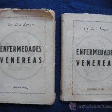 Libros de segunda mano: ENFERMEDADES VENEREAS. DR. LUIS SAMPER. 2 TOMOS. Lote 27160519