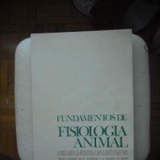 Libros de segunda mano: FUNDAMENTOS DE FISIOLOGIA ANIMAL. Lote 27677421