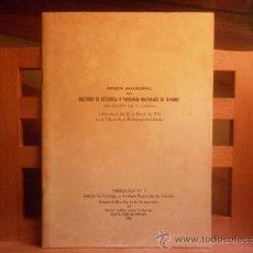Libros de segunda mano: INSTITUTO DE FISIOLOGIA Y PATOLOGIA REGIONALES DE TENERIFE-SESIÓN INAUGURAL 1955. Lote 28498005