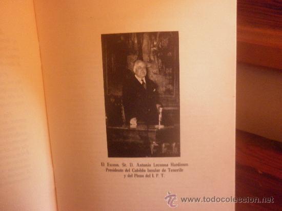 Libros de segunda mano: INSTITUTO DE FISIOLOGIA Y PATOLOGIA REGIONALES DE TENERIFE-SESIÓN INAUGURAL 1955 - Foto 3 - 28498005