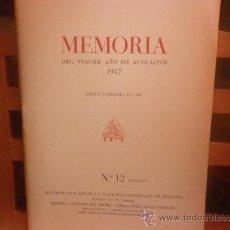 Libros de segunda mano: MEMORIA DEL TERCER AÑO DE ACTUACIÓN 1957. INSTITUTO DE FISIOLOGÍA Y PATOLOGÍA REGIONALES DE TENERIFE. Lote 28507917