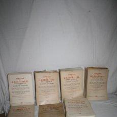 Libros de segunda mano: 1751-INTERESANTE CONJUNTO DE REVISTAS ' JOURNAL DE RADIOLOGIE' POR SOCIETE D´ELECTROLOGIE, 1959-1967. Lote 28527892