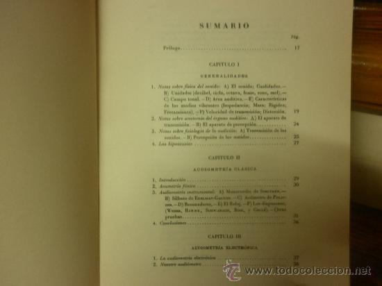 Libros de segunda mano: EXPLORACIÓN DE LA FUNCIÓN AUDITIVA-TESIS DOCTORAL (FRANCISCO PÉREZ DELGADO) - Foto 3 - 28568908