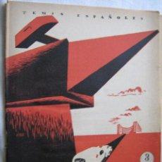 Libros de segunda mano: MEDICINA DEL TRABAJO. ISASI, ALFREDO. 1956. TEMAS ESPAÑOLES. Lote 29100085